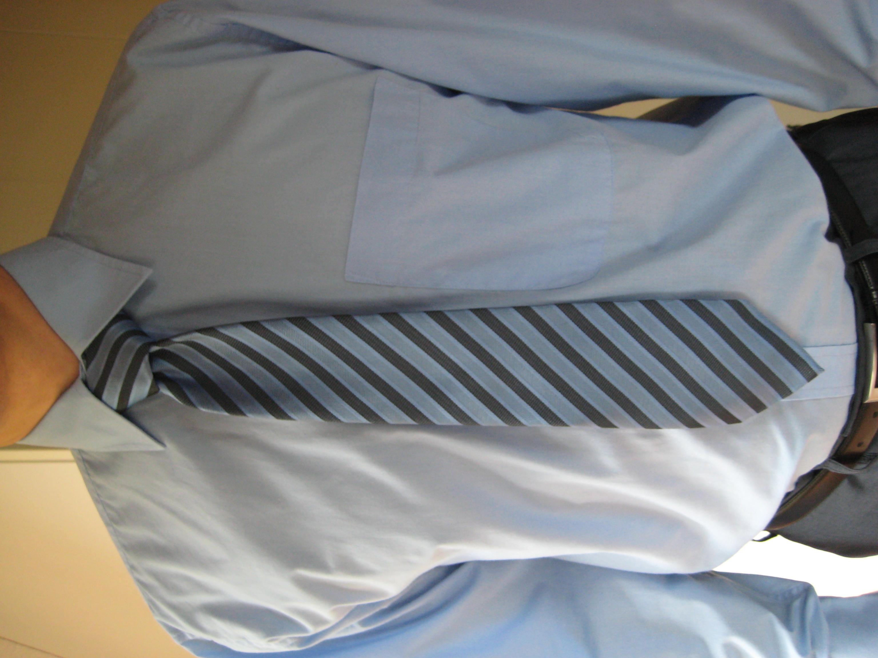 Krawattenlänge zu kurz