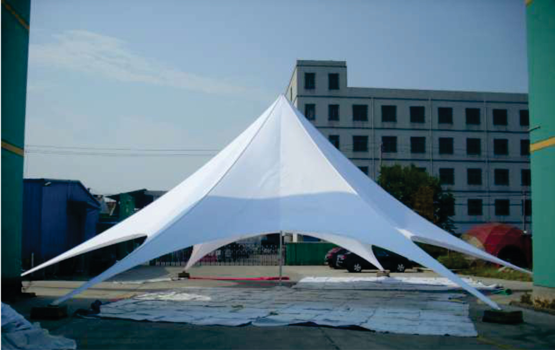 star tents in any color, with any graphics