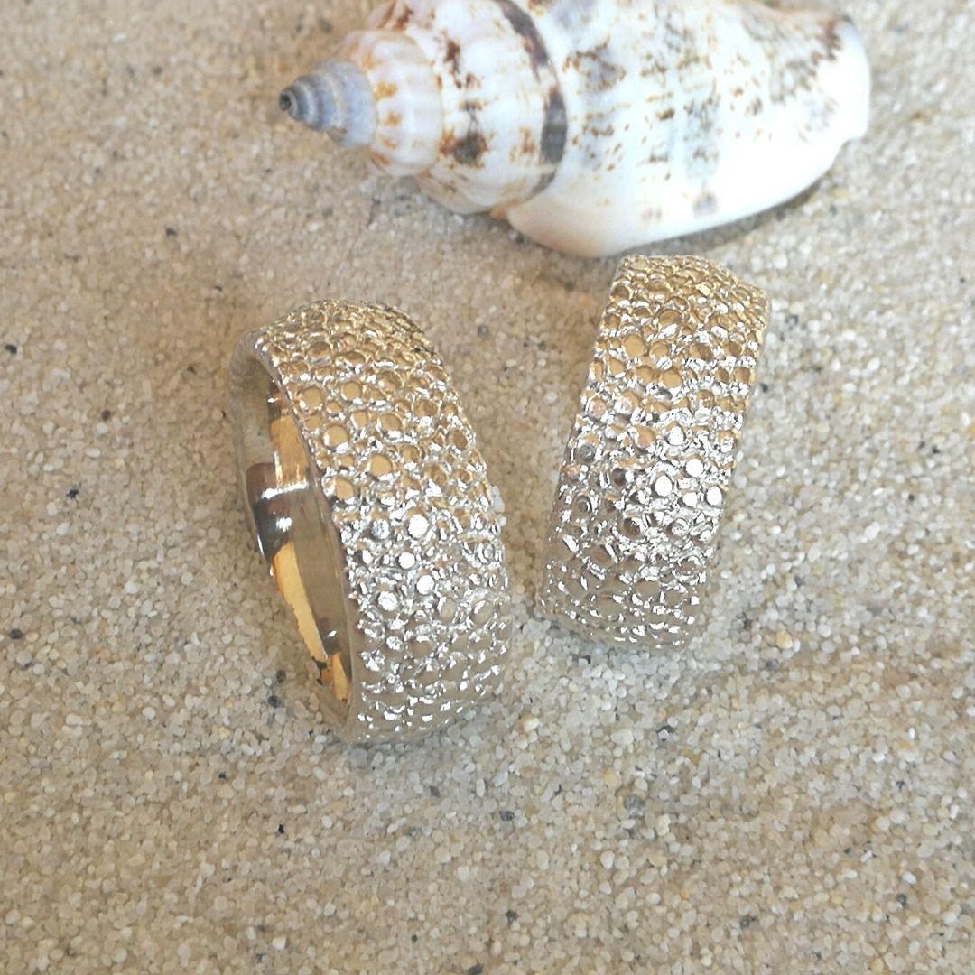 """Ring """"Rochie"""" Silber breit"""