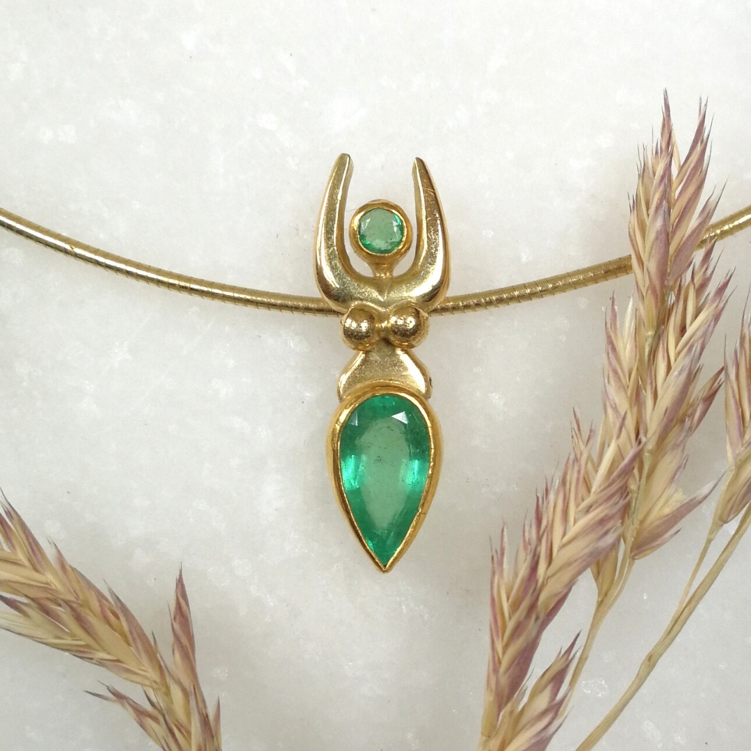 Smaragd Göttin