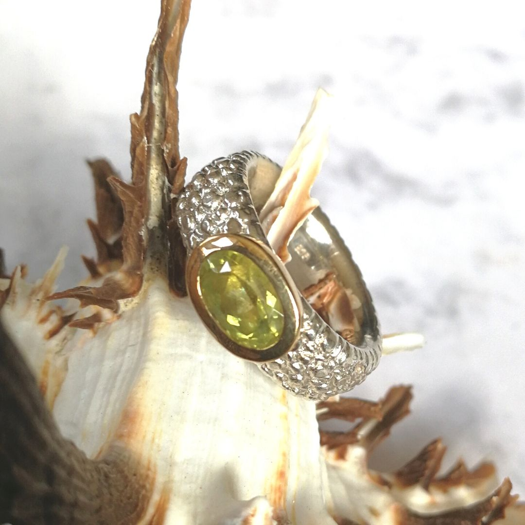 "Ring ""Rochie"" mit Chrysoberyll"