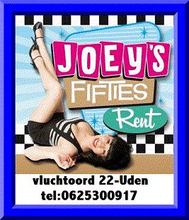 Joey's Fifties Rent is de ultieme retro-shop voor al uw Americana artikelen