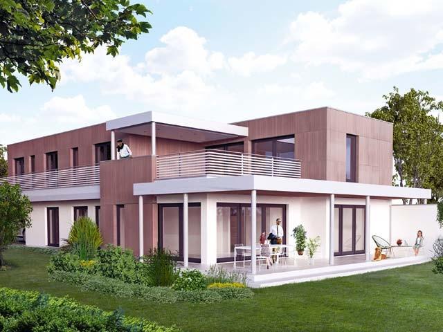 Neubau DEFH Buchs, (Bild: Tersus AG)