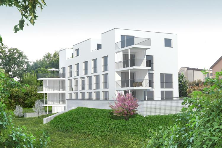 Neubau Mozartpark, (Bild: Galliker und Riva Architekten AG)