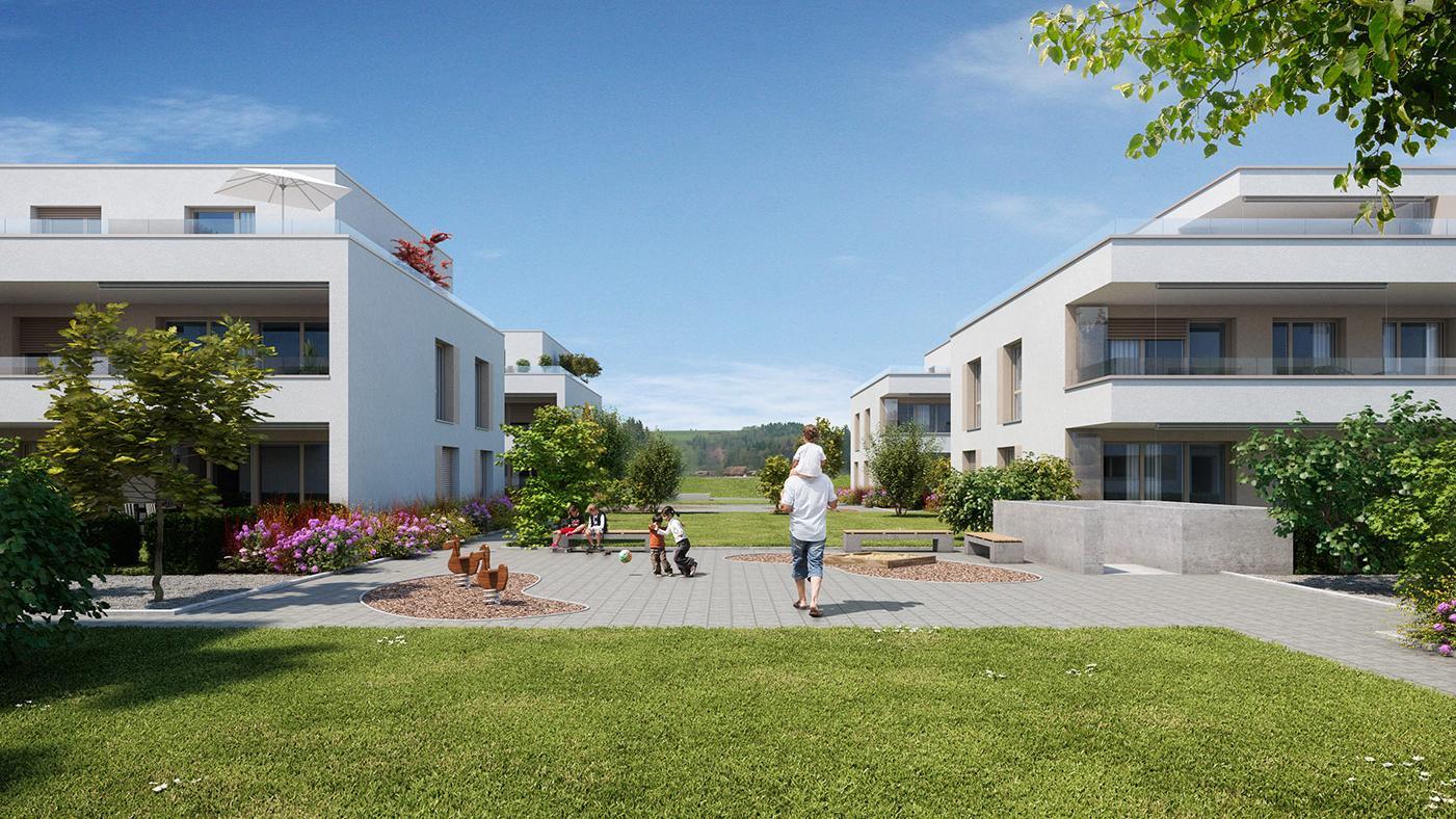 Überbauung Gettnau, (Bild: Schwegler Architektur AG)