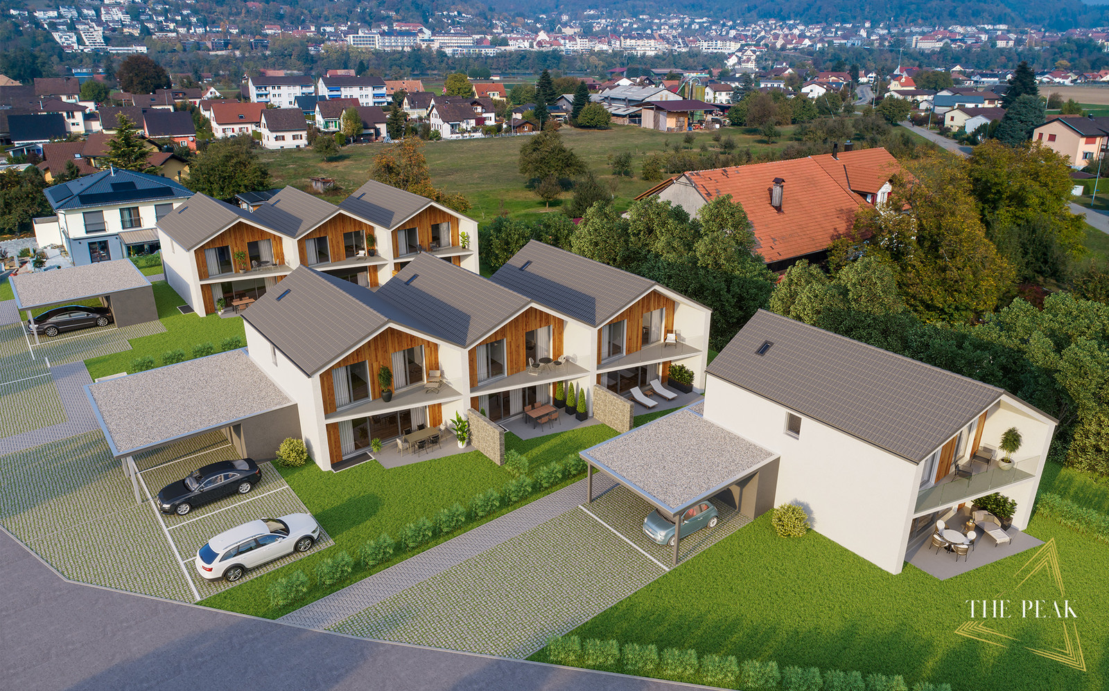 Wohnüberbauung The Peak, (Bild: Mowe House GmbH)