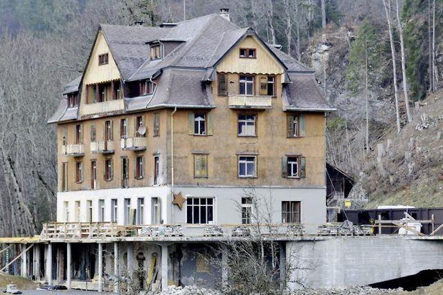 Hotel Restaurant Wetterhorn vor dem Umbau
