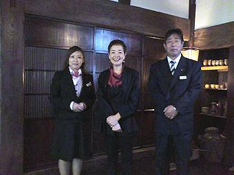 浜美枝さん、秋山さん、岩崎さん