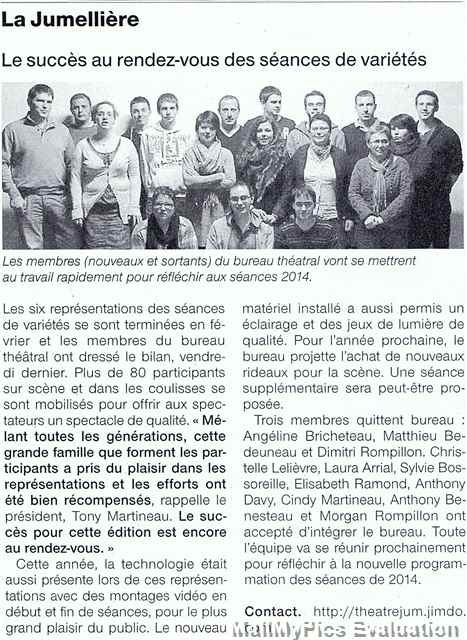 Ouest France 03-04-2013