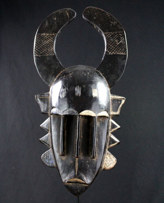 maschera a triplo volto Djimini