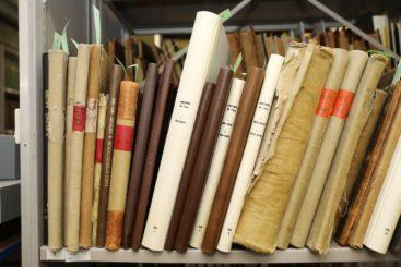 Buchrestaurierung Lagerung