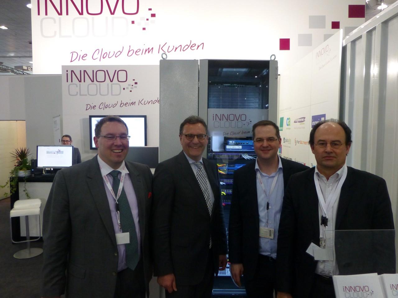CeBIT 2013: Besuch bei der iNNOVO CLOUD GmbH