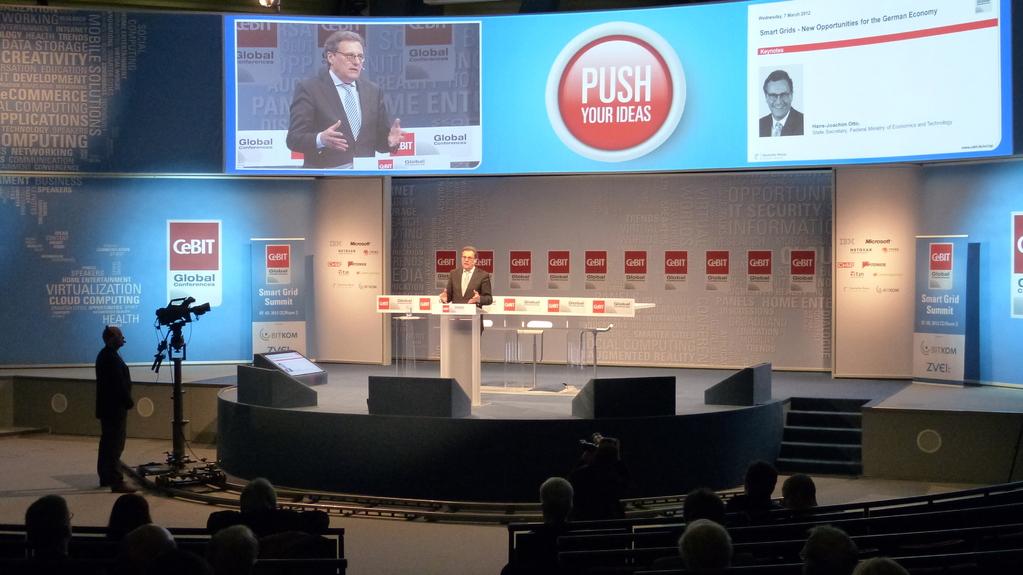 Rede Hans-Joachim Otto beim Smart Grid Summit auf der CeBIT 2012