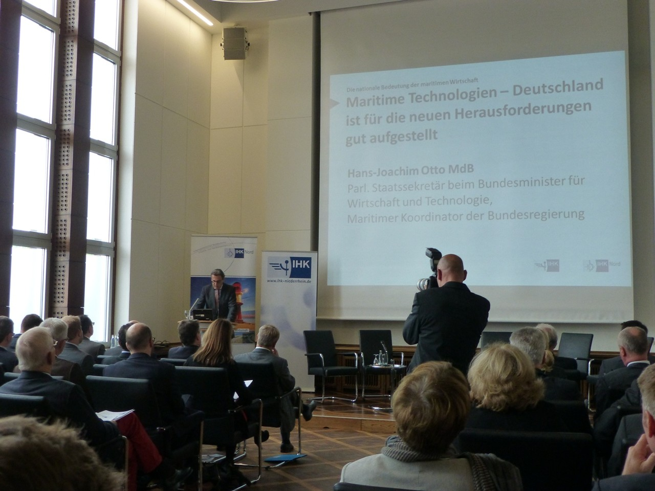 Duisburg Roadshow Maritime Wirtschaft