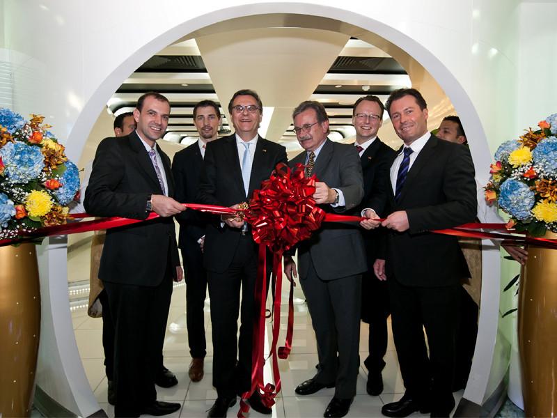 Eröffnung des neuen Büros der Messe Frankfurt in Dubai.
