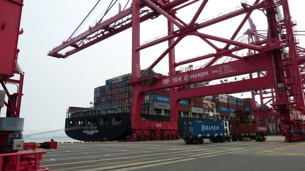 Busan New Port: Impressionen