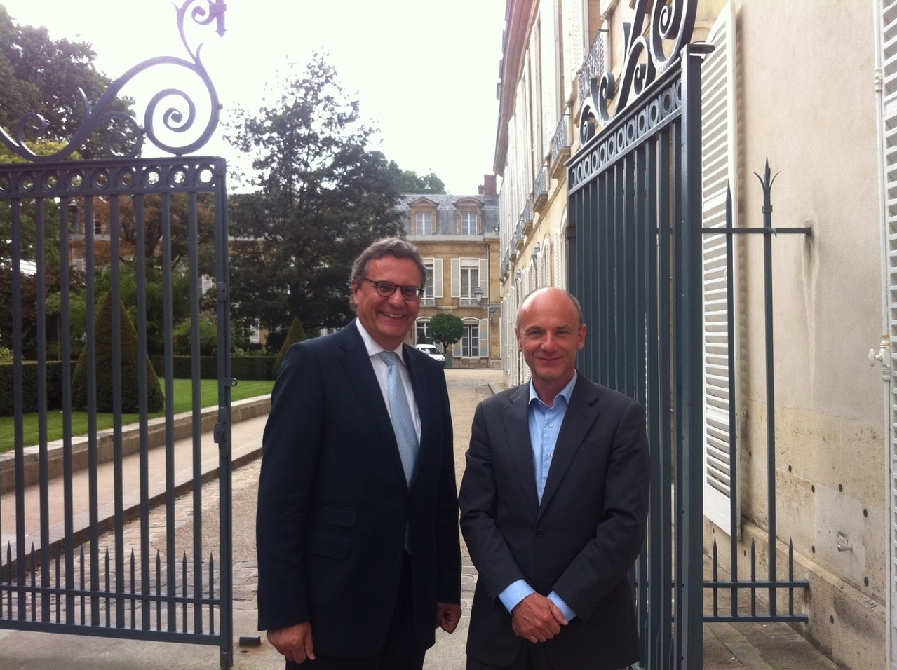 Paris, mit Prof. Jerome Duval Hamel