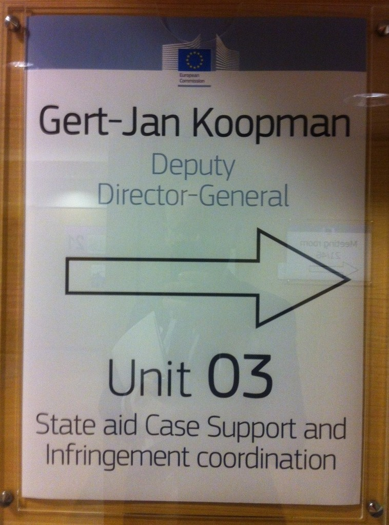 Brüssel, Gespräch mit Gert-Jan Koopman
