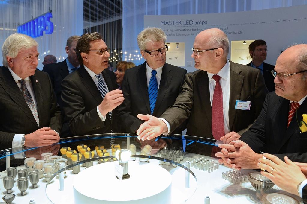 Opening Tour © Messe Frankfurt Exhibition / Pietro Sutera