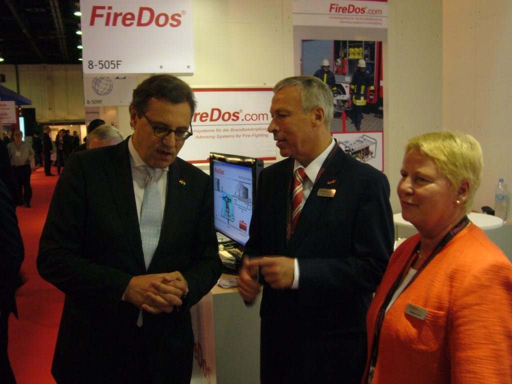 Im Gespräch mit Margot und Heinrich David vom Familienunternehmen, FireDOS aus Wölfersheim
