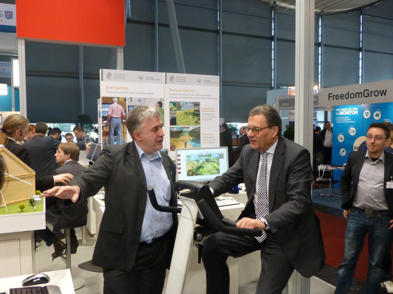 CeBIT 2013: Serious Games für Sport und Gesundheit, Entwicklungen der TU Darmstadt