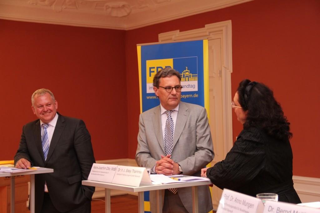 Podiumsdiskussion im Schloß Thurnau bei Bayreuth