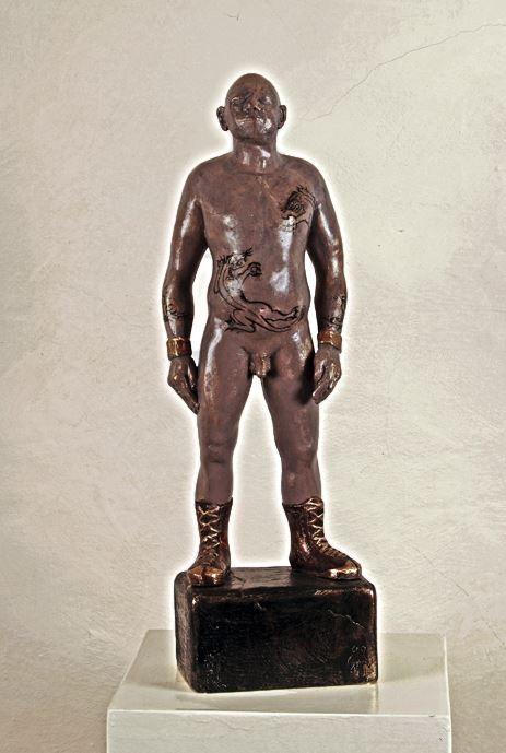 Jonny, Bronze Unikat, 50 cm, Hanna Regina Uber