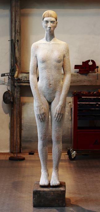 Taras Tochter, Holz, 184 cm, Hanna Regina Uber