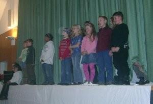 Klasse 3 singt Jingle Bells