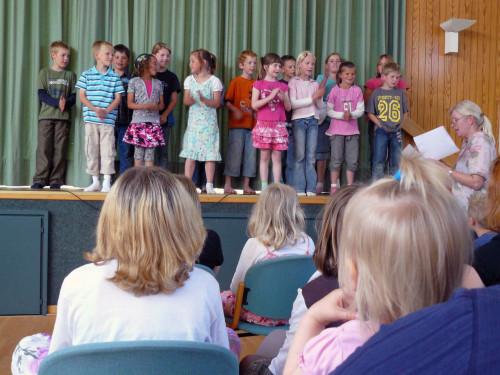 Abschied Der 4 Klasse Schuleneuenkirchens Jimdo Page