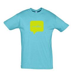 Mela Mens Tshirt Atoll Blue Malta Souvenirs