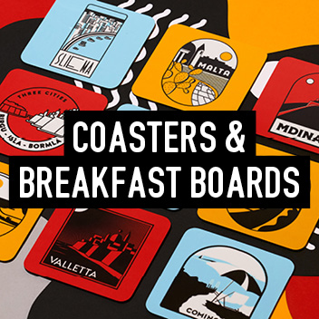Coasters and Breakfast Boards