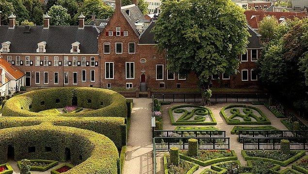 De Prinsentuin in Groningen (ingang Turfsingel)