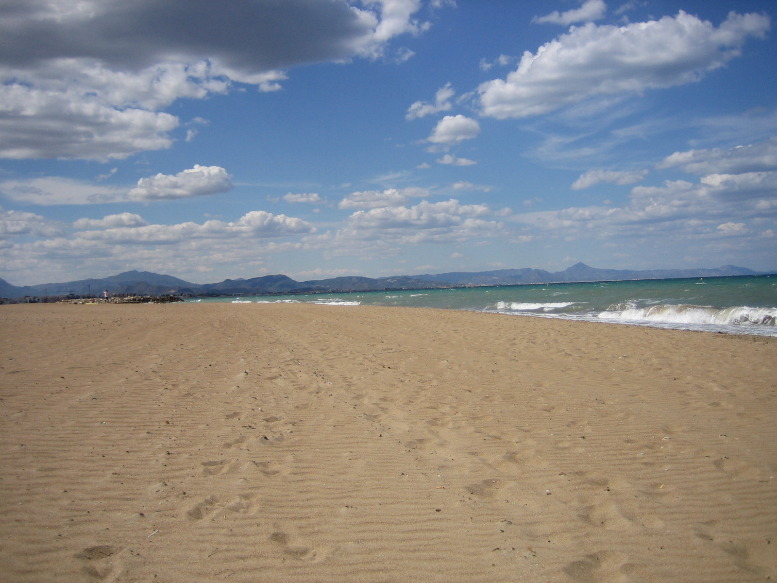 Strand van Denia