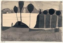 Paul Klee, Park am See (mit Häusern), 1920 Fondazione Gabriele e Anna Braglia, Lugano (Foto: Franz Marc Museumsgesellschaft mbH)
