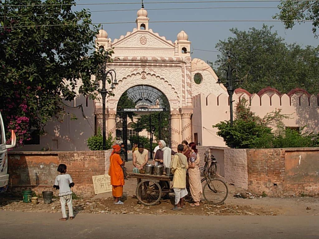 munger Mandir viev from Mathura Road