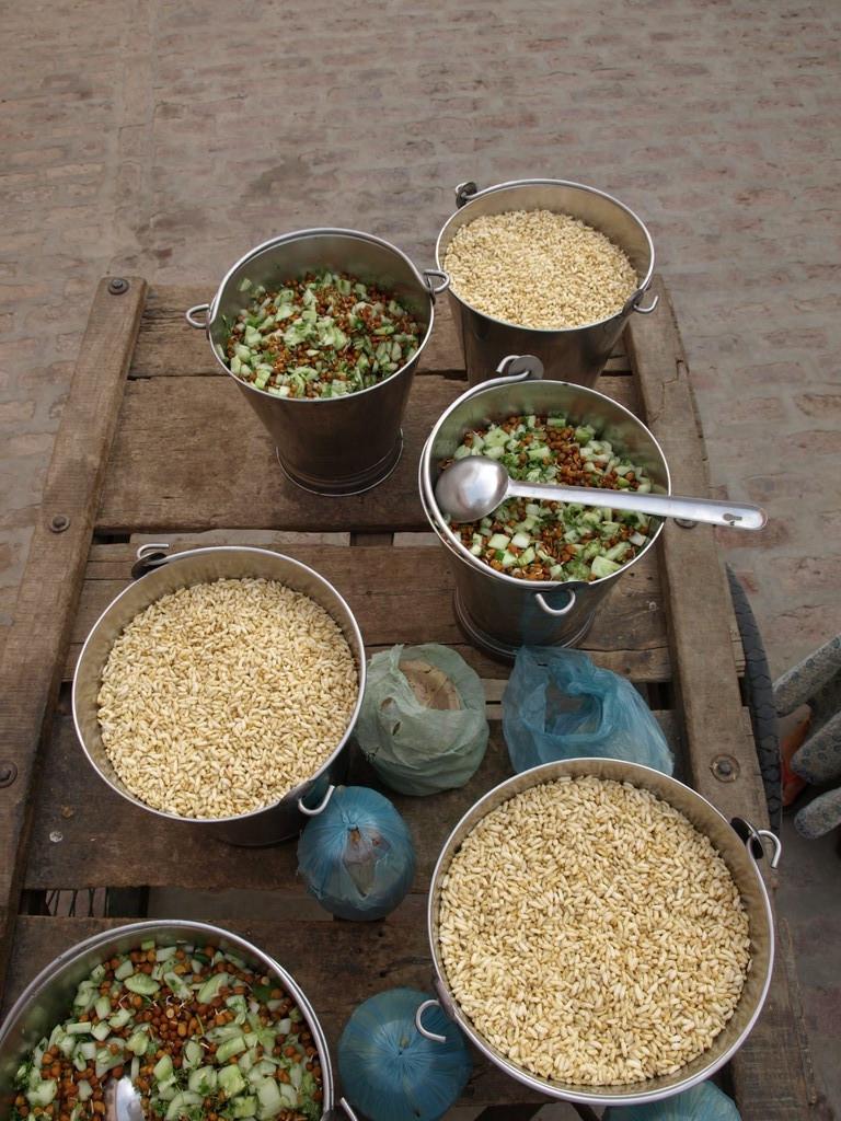 Prem Prasad summer distribution  -Chickpeas and Puffrice