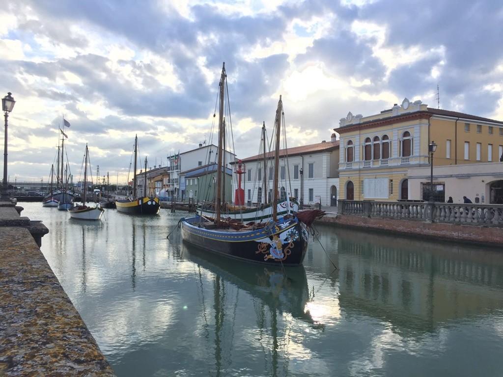 Der Hafen von Cesenatico