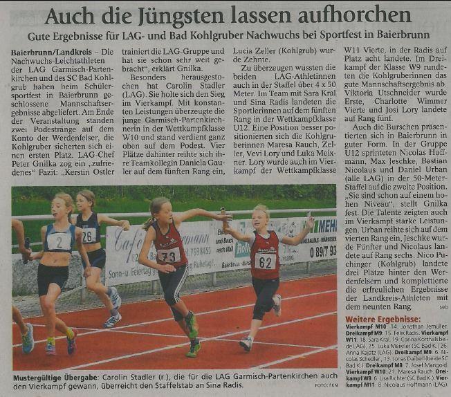 Münchner Merkur vom 17.06.2014