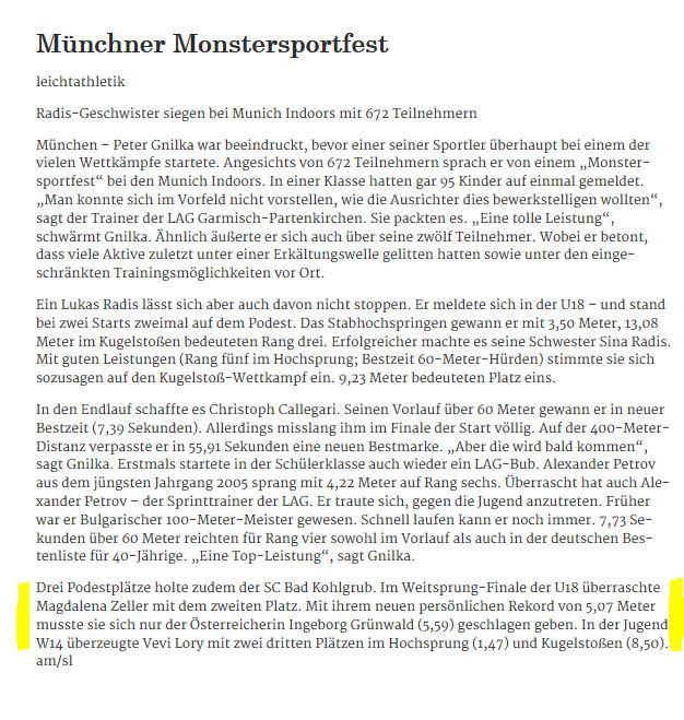 Münchner Merkur vom 14.02.2017