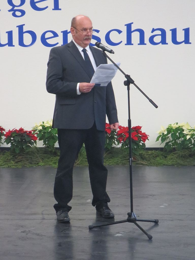 Ausstellungsleiter Klaus Ziener