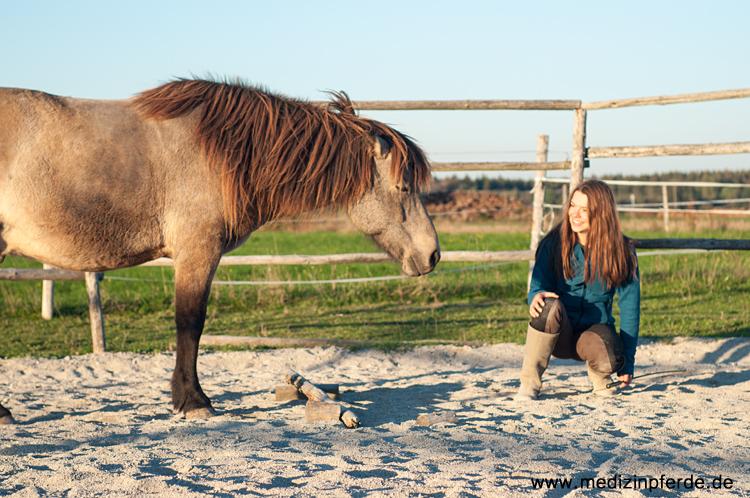 Tierkommunikation statt Dominanz in der Bodenarbeit