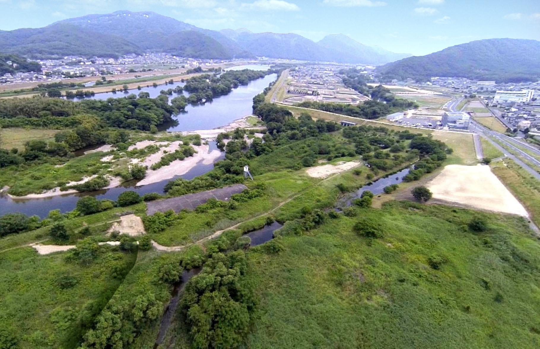 河川整備前イメージ