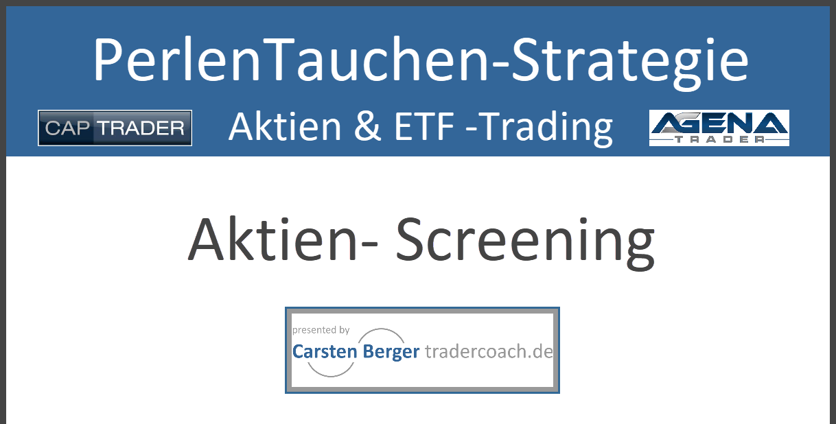 01/21 PerlenTaucher-Strategie - Der Aufbau - Webinaraufzeichnung
