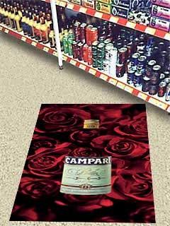 Fußboden Selbstklebefolie Campari