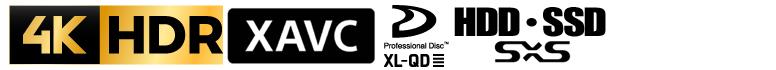 4k uhd 4k変換 HDR HLG bt.2020 bt.2100 bs4k cs 4k 放送局 納品 cm搬入 XAVC class300 200M