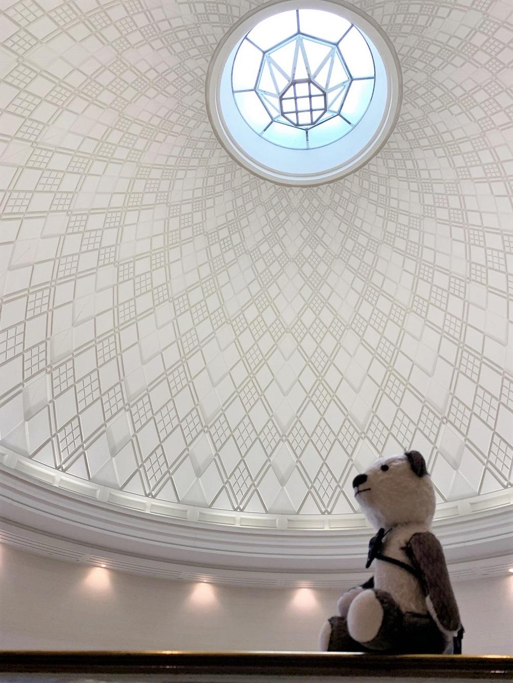 美術館の素敵な天井♩