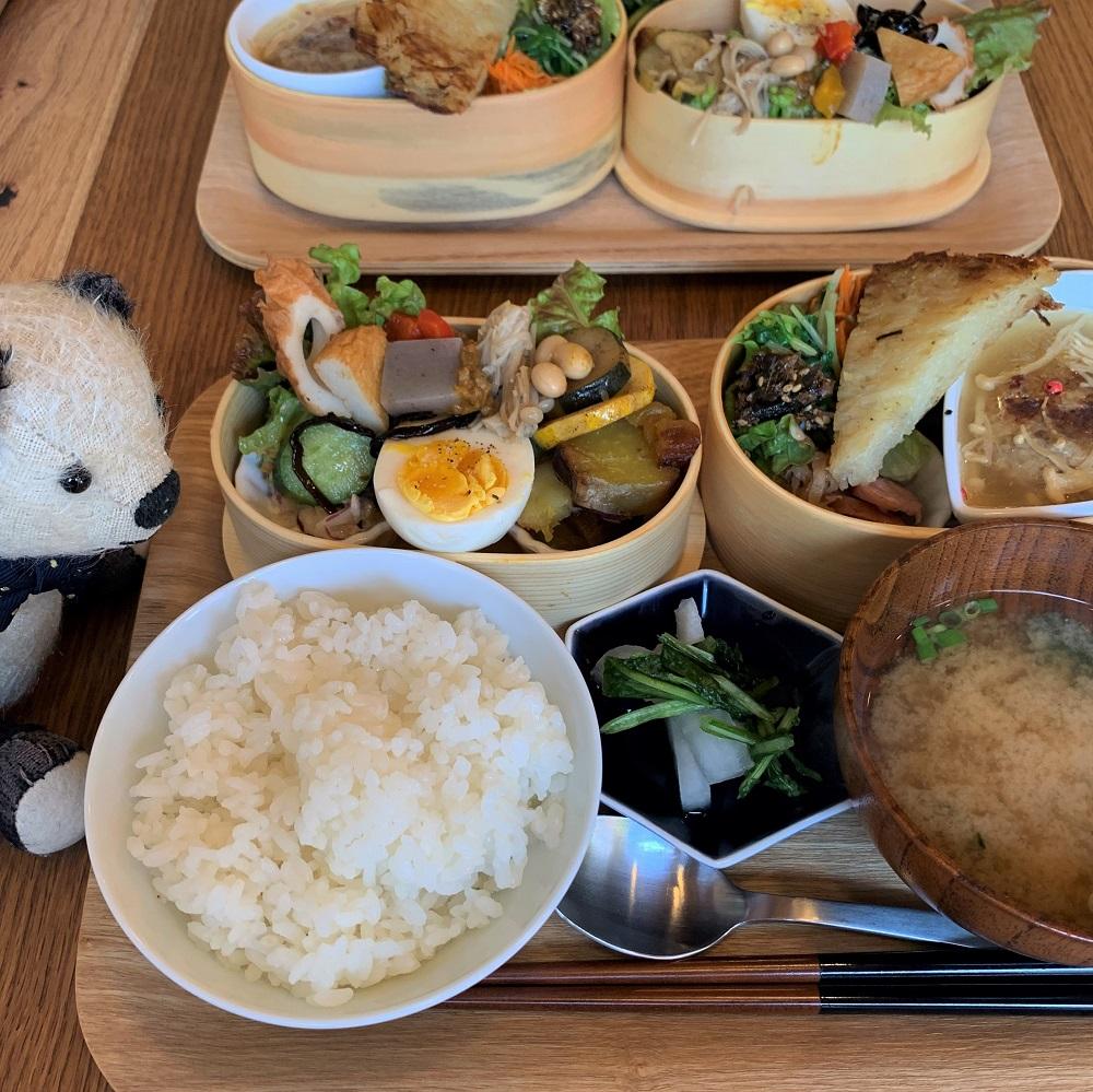 cafe icoi さんのお弁当ランチ