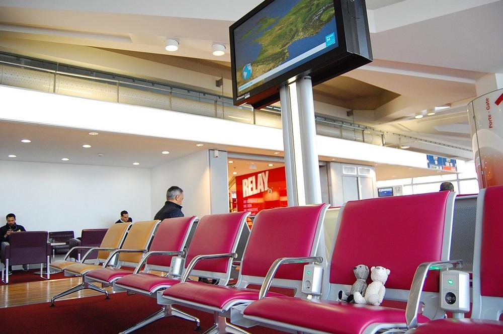 空港ってわくわくするよね