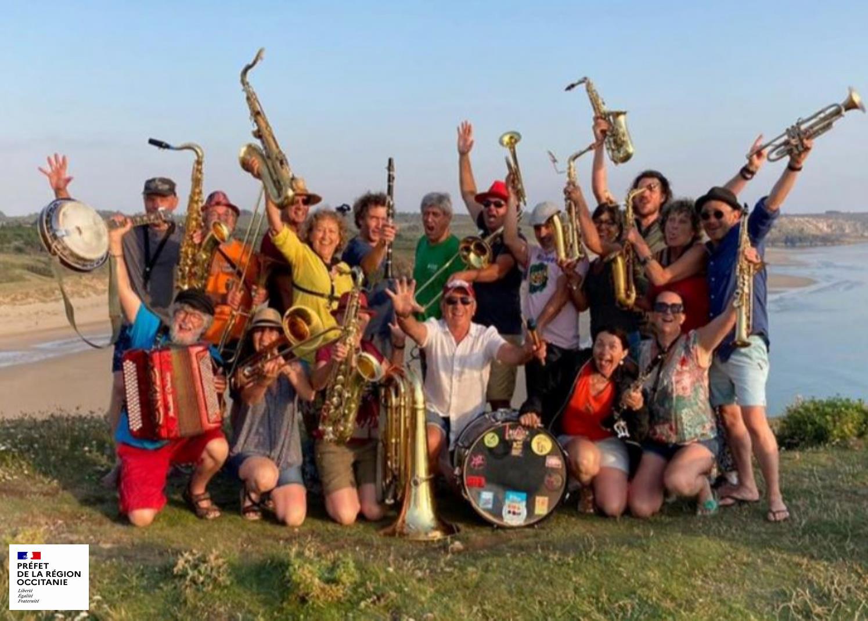 Juillet 2021 - Tournée en Bretagne avec le soutien de la DRAC Occitanie